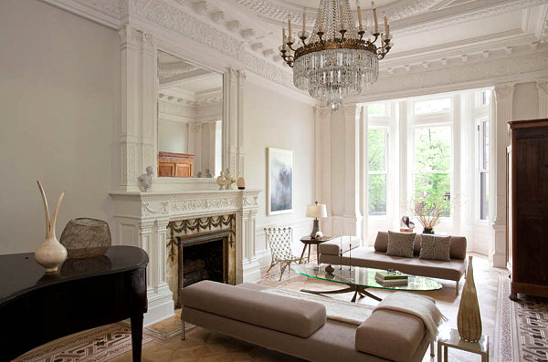 How to decorate a living room - Modern classic design interior ...