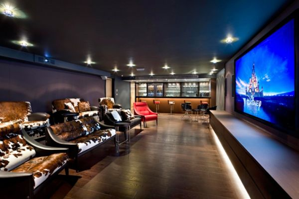 Modern Media Room Designs That Will Blow You Away - Awesome media room designs