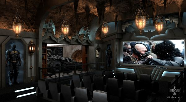 Batman Home Theater for lovers of Dark Knight
