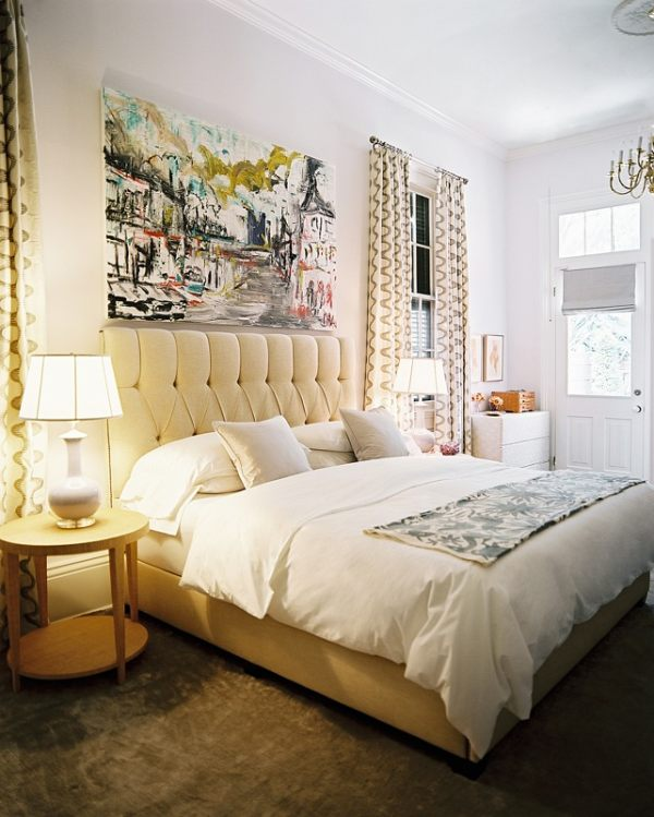 Bedside lamps in a modern eclectic bedroom Bedroom Lighting Ideas to Brighten Your Space