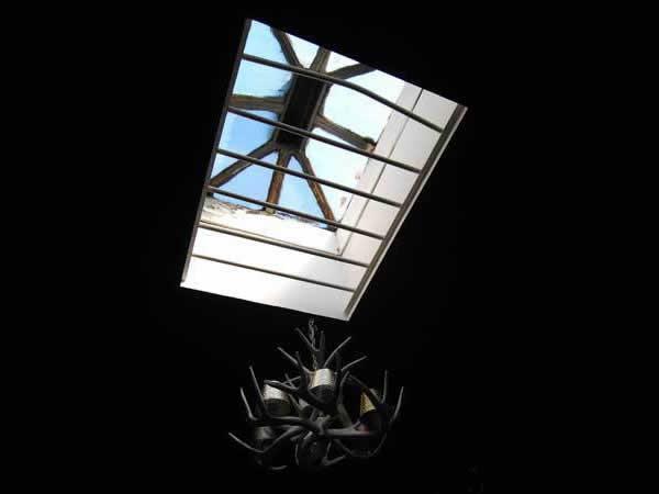 Black Apartment Redecoration - antlers chandelier