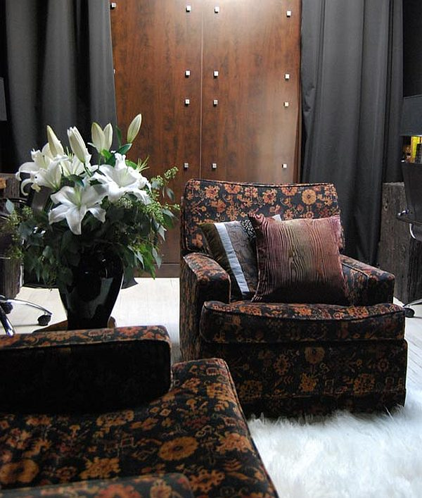Black Apartment Redecoration - bachelor pad decor