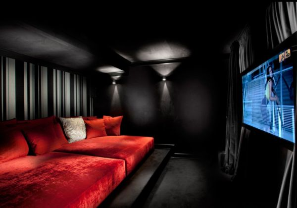 35 modern media room designs that will blow you away - Beautiful home media room designs ...