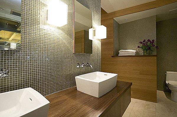 Modern Bathroom And Vanity Lighting Solutions - Modern bathroom sconce
