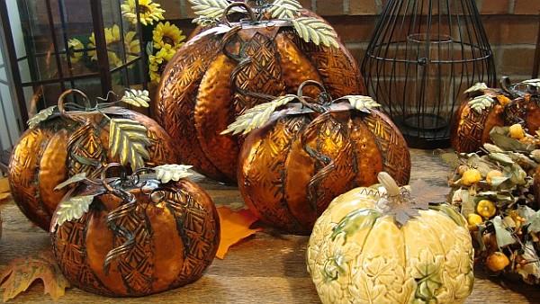 Brilliantly vibrant and beautiful pumpkins
