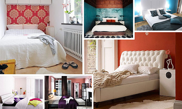 Colorful small bedroom design ideas for Tiny bedroom layout ideas