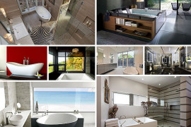 Contemporary Bathroom Tubs