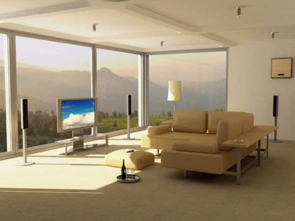 in gallery Contemporary Media Room. 35 Modern Media Room Designs That Will Blow You Away