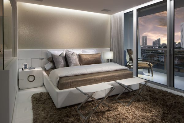 View in gallery Cove lighting in a contemporary bedroom  Bedroom Lighting  Ideas to Brighten Your. Lighting Bedroom   PierPointSprings com