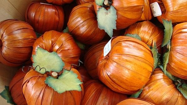 Cute little pumpkins for wreaths