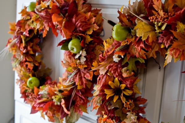 DIY Autumn Wreaths Ideas