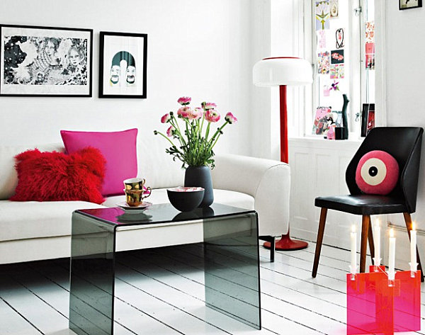 Eye-catching decorative accents