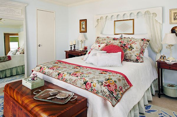 Foot boards switching things up in your bedroom in five for French cottage bedroom ideas
