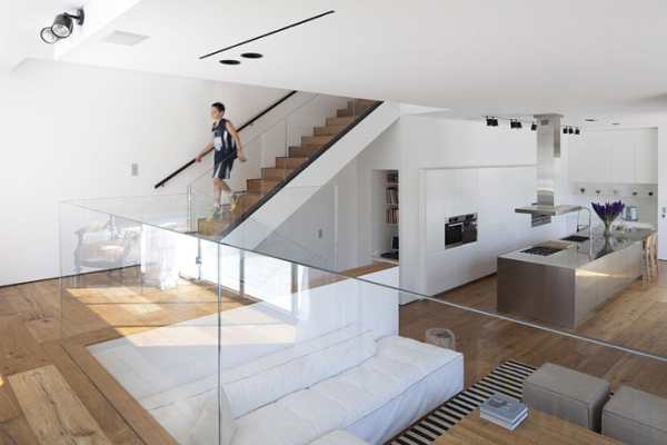 Glass-Private-House-exquisite-living-room-decorating