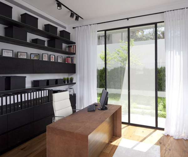Glass Private House – home office design