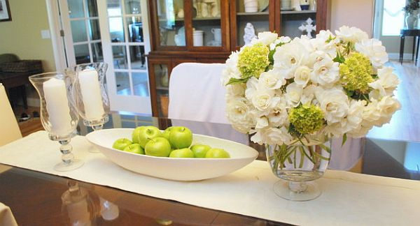 Four simple decorating ideas for fall for Apple home decoration