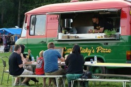 Little Nicky's Tasty Pizza: Fancy Mobile Pizzeria in South East London
