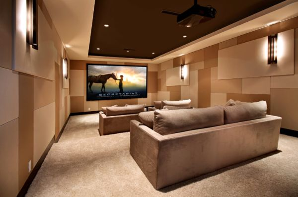 35 modern media room designs that will blow you away Home theater architecture