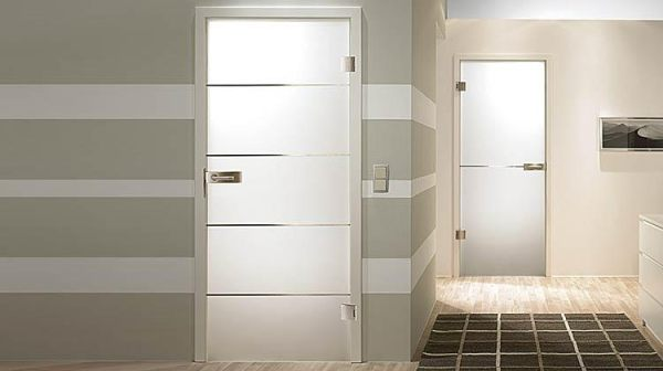 Modern door designs for your home for Interior glass panel doors designs
