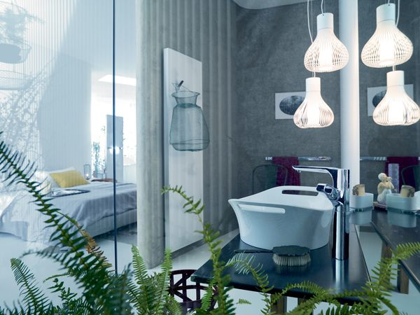 Modern bathroom and vanity lighting solutions for Bathroom vanity pendant lighting