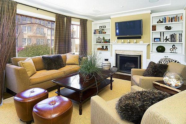 How to decorate a living room for How to set small living room
