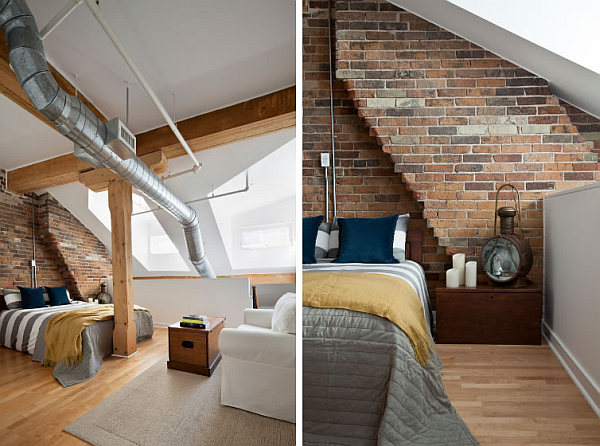 Penthouse loft – bedroom design idea