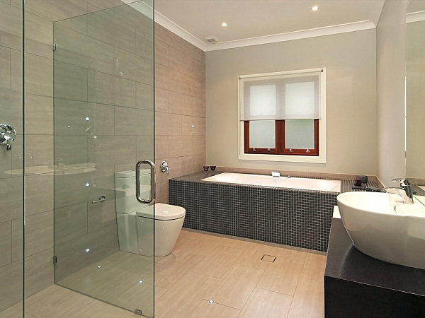View In Gallery Recessed Bathroom Lighting Modern Bathroom And Vanity Lighting Solutions