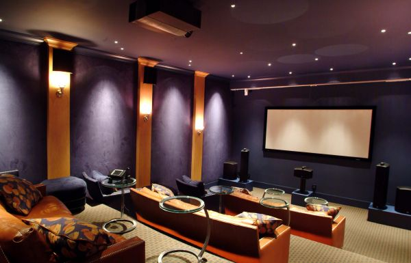 35 modern media room designs that will blow you away for House plans with media room