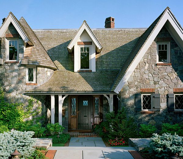Choosing the paint color for the exterior of your house for Storybook cottage plans