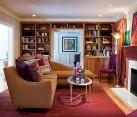 Stunning vibrant living room