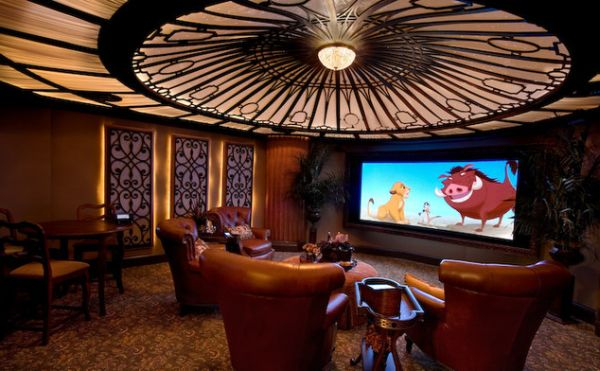 48 Modern Media Room Designs That Will Blow You Away Adorable Home Theater Room Designs Style