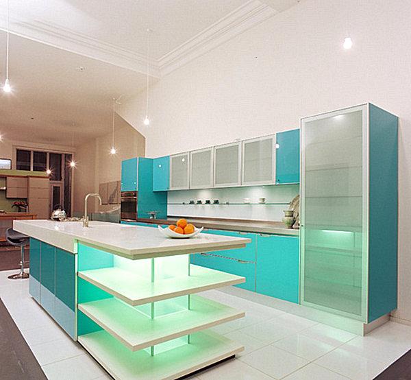 Creative Ideas For Kitchen Cabinets: Translucent Kitchen Cabinets