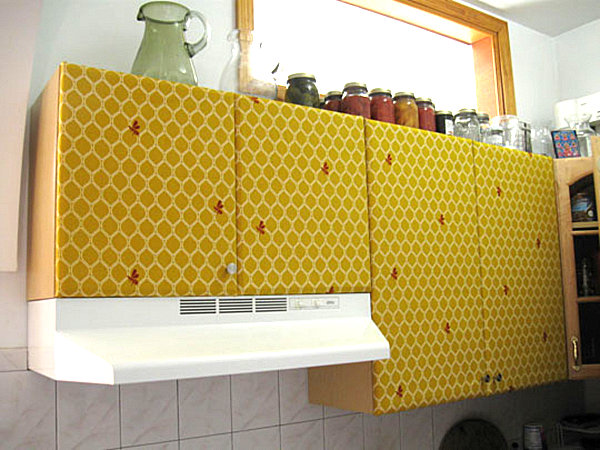 Upholstered-kitchen-cabinets