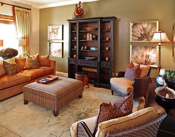 6 home decor ideas inspired by fall fashion for Home furnishing ideas