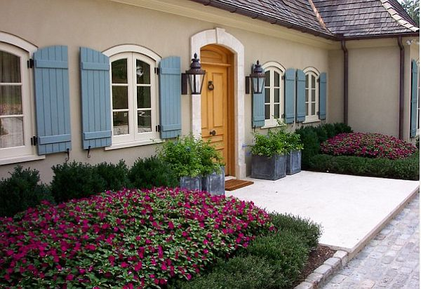 French country exterior paint colors joy studio design for French country shutters