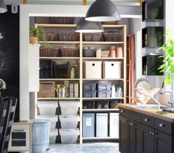 closet pantry organization