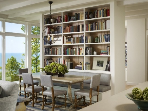 Selecting the ideal dining room chairs for your for Dining room office combo