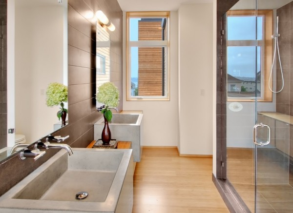 View In Gallery Concrete Interiors Bathroom Modern