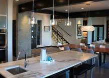 concrete interiors kitchen