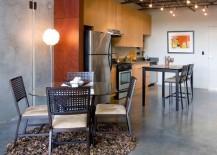 concrete interiors polished floors
