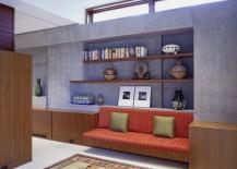 concrete interiors sitting area
