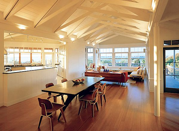 contemporary-attic-dining-room-table