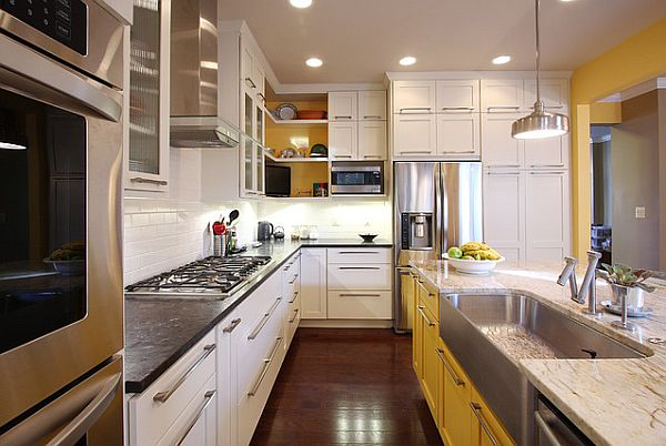 dark granite perimeter kitchen counter 3 Overlooked Projects that Will Add Value to Your Home
