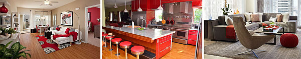 decorating with red Decorating with Red: Photos & Inspiration for a Beautiful Red Home Decor