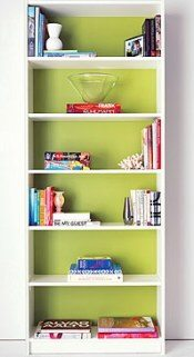 diy painted bookshelf