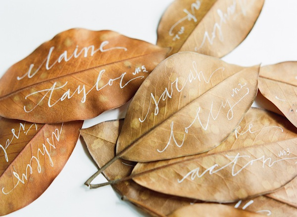 fall seating cards