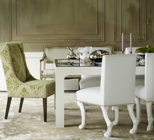 Selecting the ideal dining room chairs for your - Elegant dining room chairs ...