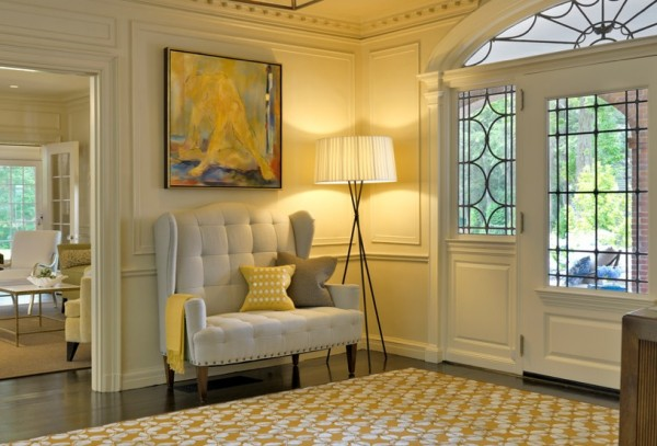 Inspiring floor lamps for a chic home view in gallery foyer floor lamp modern put mozeypictures Gallery