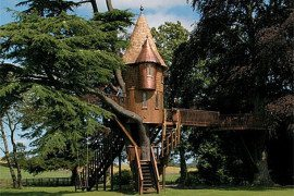 Awesome Tree Houses for Kids