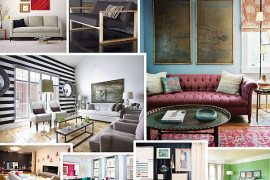 Living room paint ideas with cute color schemes